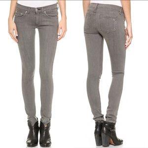 Rag & Bone Gray Skinny Jeans Size 30